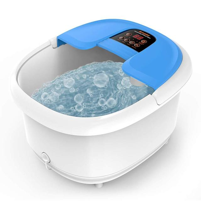 Arealer Foot Spa Bath Massager. (Photo: Amazon)