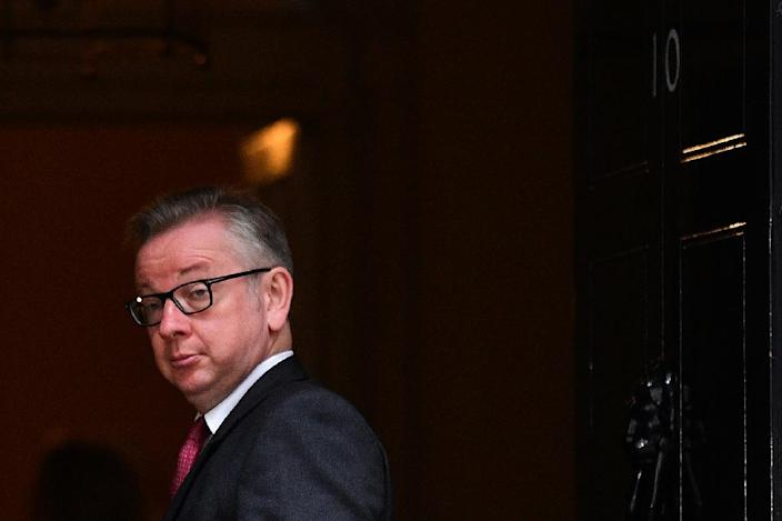 While he campaigned hard in the referendum, Michael Gove is seen as more of a behind-the-scenes operator and intellectual than a grassroots politician who can win over Conservative Party members (AFP Photo/Leon Neal)