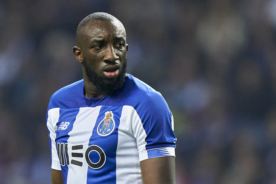 FC Porto's Moussa Marega received racial abuse during a recent match at Vitoria Guimaraes. (Photo by Jose Manuel Alvarez/Quality Sport Images/Getty Images)