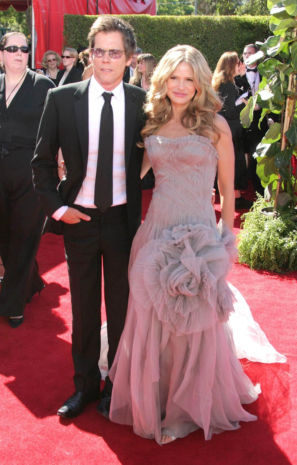 The couple at the Emmy Awards in Los Angeles.