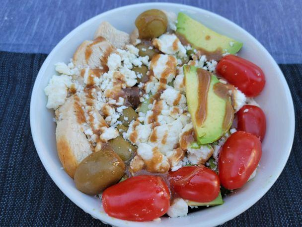 PHOTO: A simple Greek energy bowl from Ian K. Smith's new book. (Ian K. Smith)