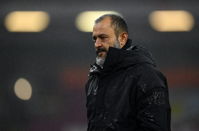 It was a disappointing evening for Wolves boss Nuno Espirito Santo