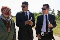 "Will Smith and Josh Brolin in Columbia Pictures' ""Men in Black 3"" - 2012"