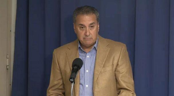 PHOTO: Joseph Cartellone speaks during a press conference at the National Press Club in Washington D.C., Aug. 7, 2019. (prwlegal.com)