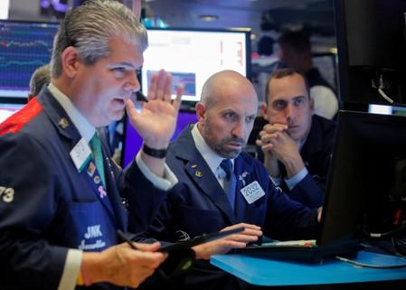 Global Markets: Oil falls as supply worries fade; stocks edge higher