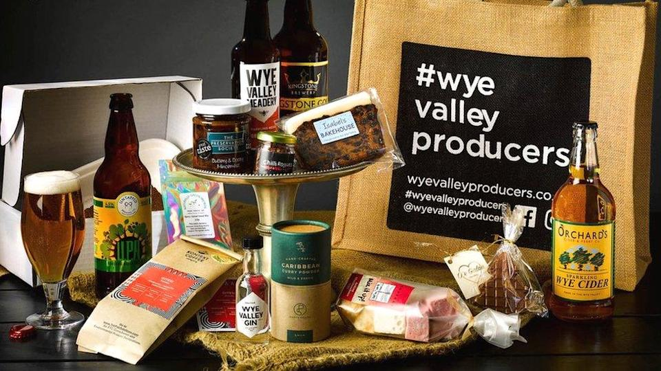Goods made by Wye Valley Producers