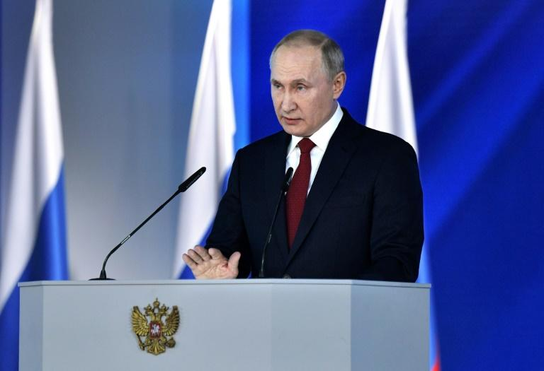 Putin's address comes two decades after he first became president
