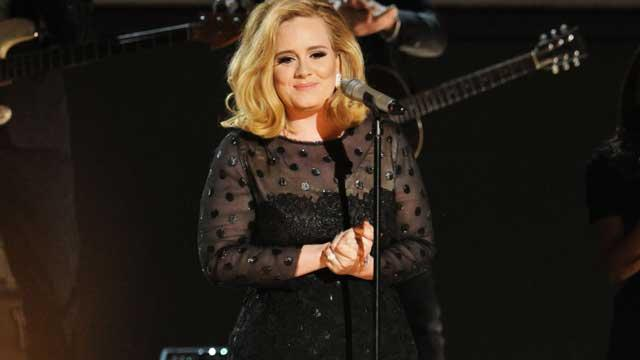 Grammys 2012: Adele Sweeps, Jennifer Hudson Delivers Stirring Tribute to Whitney Houston