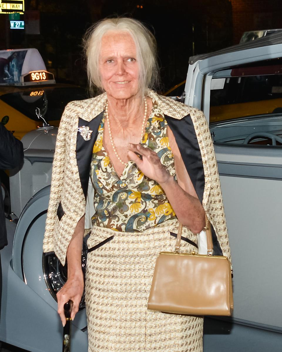 """<strong>Heidi Klum as her 95-year-old self</strong><br><br>Ever wonder what Heidi Klum would look like as a nonagenarian? She showed us in 2013.<br><br>""""I think one of my favorite costumes was the year I was a 95-year-old version of myself,"""" Klum told <em><a href=""""http://www.fastcocreate.com/3052437/master-class/how-to-kill-it-on-halloween-the-heidi-klum-way"""" rel=""""nofollow noopener"""" target=""""_blank"""" data-ylk=""""slk:Fast Company"""" class=""""link rapid-noclick-resp"""">Fast Company</a></em> of her costume. """"I was turning 40 and everyone kept asking me how I was feeling about it, so I wanted to show them I wasn't afraid of aging or showing what I would look like as an older person."""""""