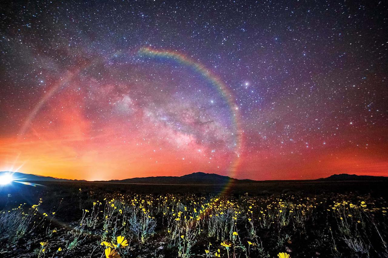 <p>Light pollution stops the views of the night sky for many, but these breathtaking photos show its real beauty. (SKYGLOW/CATERS NEWS) </p>
