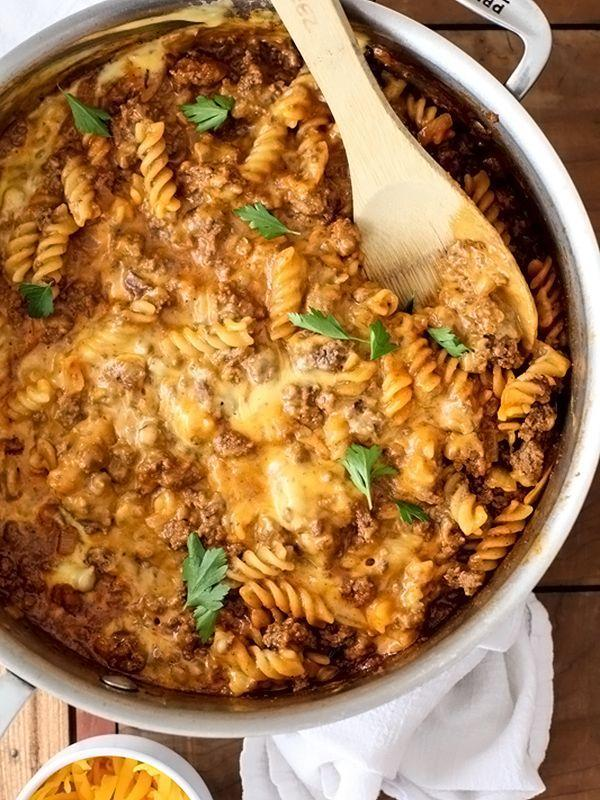 "<p>Hamburger Helper's got nothin' on you.</p><p><em><a href=""http://www.foodiecrush.com/homemade-cheeseburger-macaroni/#"" rel=""nofollow noopener"" target=""_blank"" data-ylk=""slk:Get the recipe from Foodiecrush »"" class=""link rapid-noclick-resp"">Get the recipe from Foodiecrush »</a></em></p>"