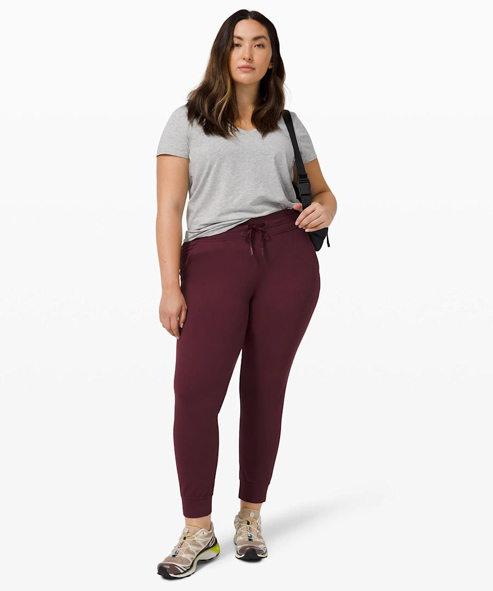 <p>The <span>Lululemon Ready to Rulu Jogger</span> ($108) is your go-everywhere pant. The fabric is super lightweight and comfortable; we wouldn't be surprised if you slept in these.</p>