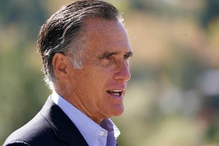 Profile in Courage Romney (Copyright 2020 The Associated Press. All rights reserved)