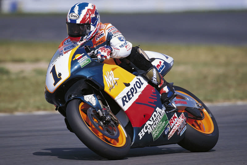 "1997: Mick Doohan, Repsol Honda Team<span class=""copyright"">Repsol Media</span>"
