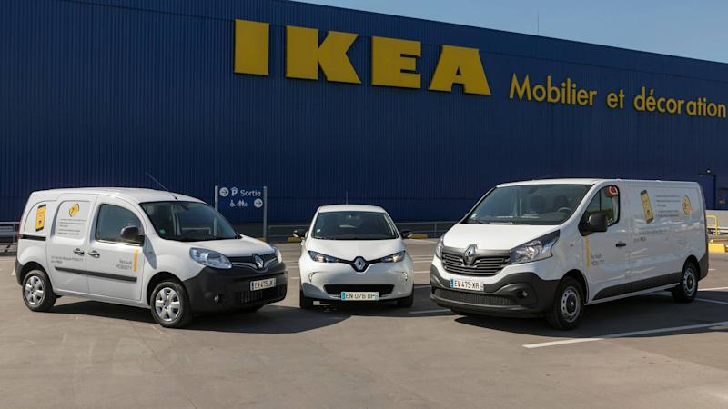 Renault Mobility s'installe chez Ikea