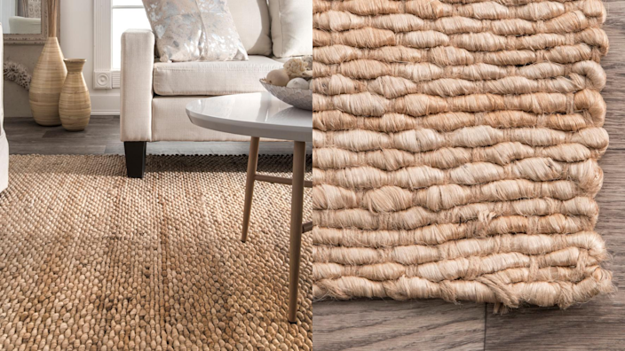This rug is neutral enough to go with anything, but it works especially well with farmhouse or coastal decor.