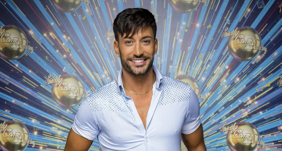 Strictly Come Dancing's Giovanni Pernice. (BBC/Guy Levy)