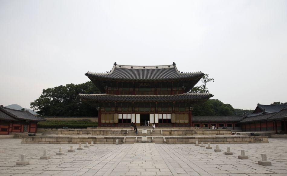The Changdeokgung Palace in Seoul.