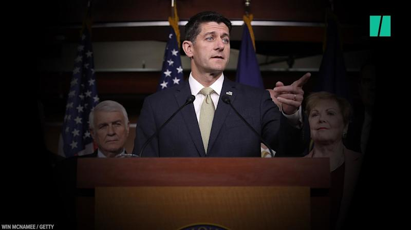 Here's Paul Ryan's Favorite Way Of Dodging Simple Questions
