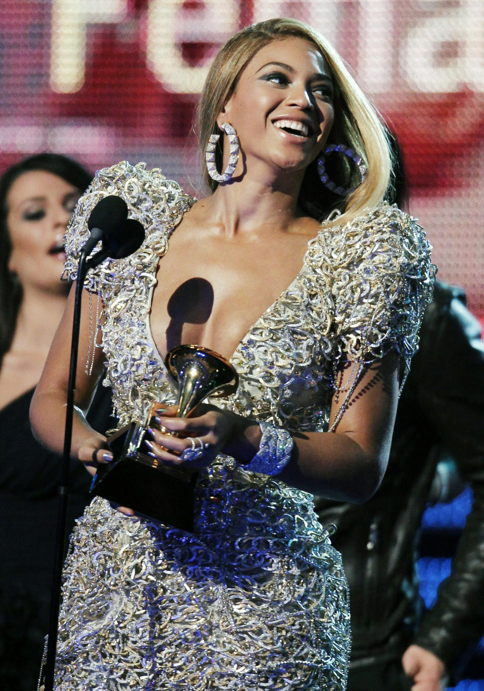 Beyoncé makes history at the 52nd annual Grammy Awards