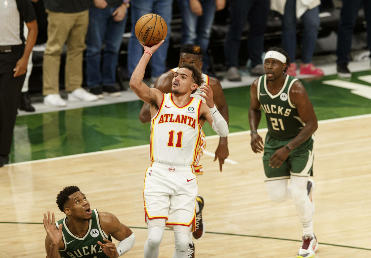 Trae Young comes lands in the top 20 of ESPN's NBA Top 100
