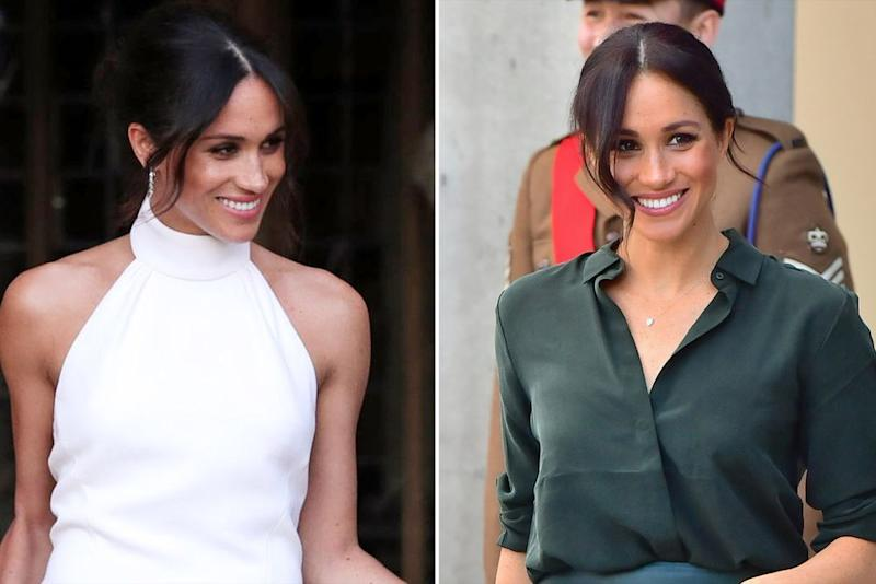 Meghan Markle Just Rocked Her Wedding Reception Hair Again For Visit To Sussex With Prince Harry,Over Island French Country Kitchen Pendant Lighting