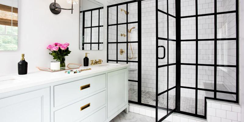 Image result for beautiful shower doors