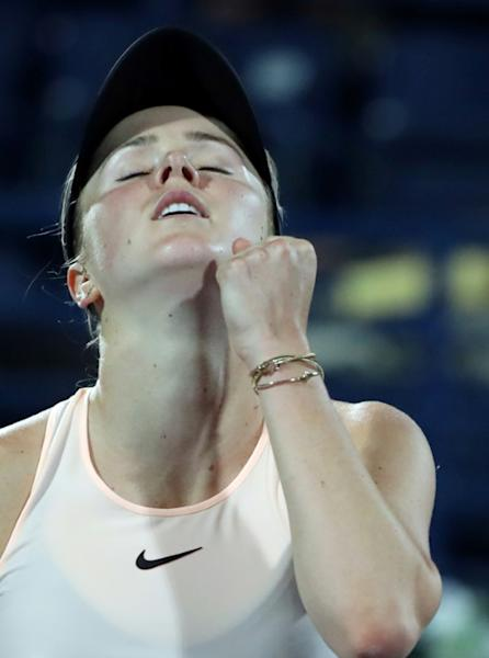 Champion class: Elina Svitolina eases past Angelique Kerber to make the Dubai final
