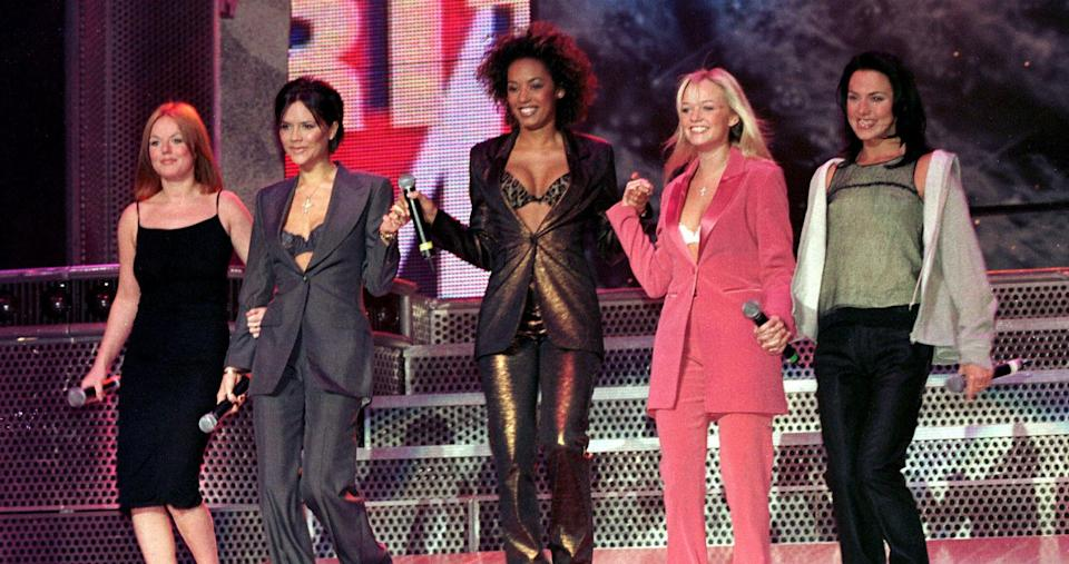 Spice Girls in their 1998 heyday (PA Images).