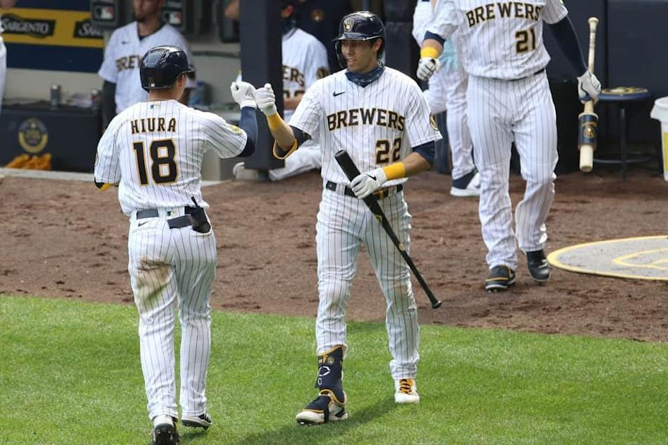 MLB DFS Picks, top stacks and pitchers for Yahoo, DraftKings & FanDuel daily fantasy baseball lineups, including the Brewers   Sunday, 7/4