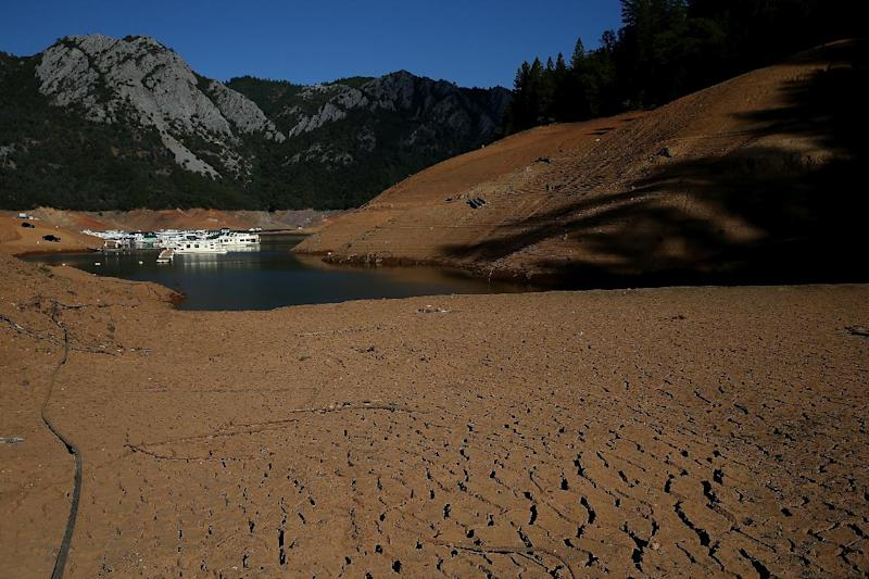 Currently the western United States has been experiencing a drought for about 11 of the past 14 years (AFP Photo/Justin Sullivan)