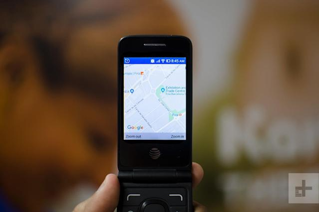 A flip phone with Google Maps? KaiOS is making dumb phones smarter