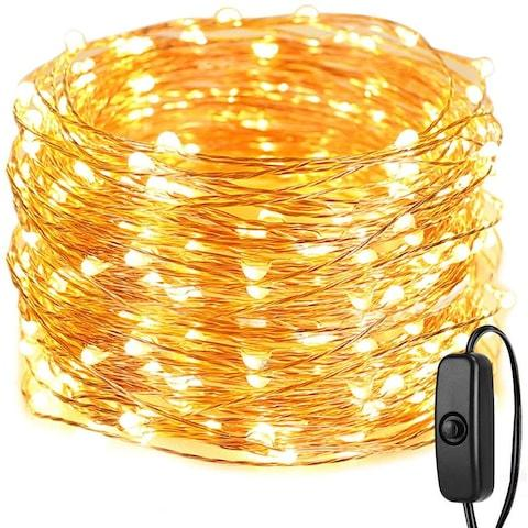 LE String Lights 20M, Fairy Lights Plug in, 200 LED, IP65 Waterproof Copper Wire, Mains Powered Christmas Lights for Indoors and Outdoors