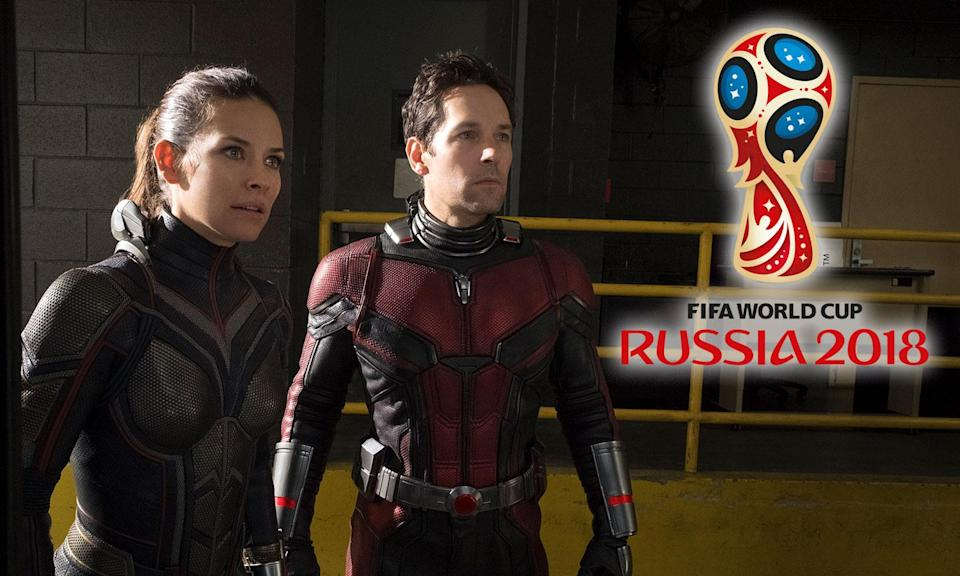 Evangeline Lilly and Paul Rudd as the Wasp and Ant-Man (Disney)