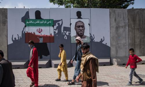 Artlords, not warlords – how Kabul's artists battle for the streets