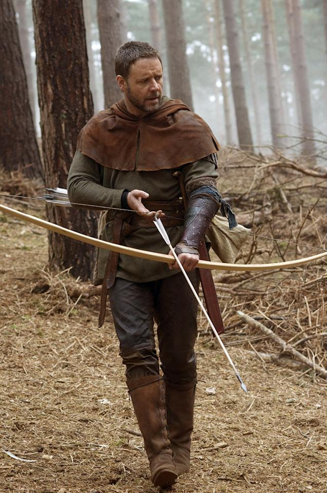 """<a href=""""http://movies.yahoo.com/movie/contributor/1800019188"""">RUSSELL CROWE</a>  ACTION: <a href=""""http://movies.yahoo.com/movie/1800224517/info"""">Gladiator</a>, the upcoming <a href=""""http://movies.yahoo.com/movie/1810077954/info"""">Robin Hood</a>  ROMANCE: <a href=""""http://movies.yahoo.com/movie/1800224517/info"""">A Good Year</a>   Russell won an Oscar for playing an action hero. How many other actors can claim that? It's so rare for an star to possess the physicality to be a convincing tough guy and the emotional depth to be taken seriously by critics. So why did he and director Ridley Scott follow it up with a boring romance set in French wine country? Thankfully, Russell is back in shape and doing what he and Ridley do best in next year's """"Robin Hood.""""   VERDICT: Action"""