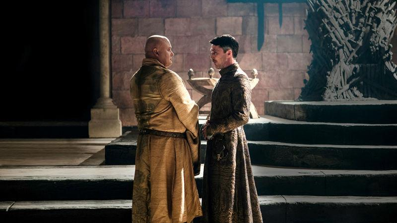Littlefinger said the same thing to Varys in a private conversation four seasons ago. Copyright: [HBO]