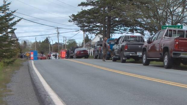 Countway and others held a physically distanced protest in West Dover, N.S., calling on the Department of Fisheries and Oceans to lift the order and set the quota now.