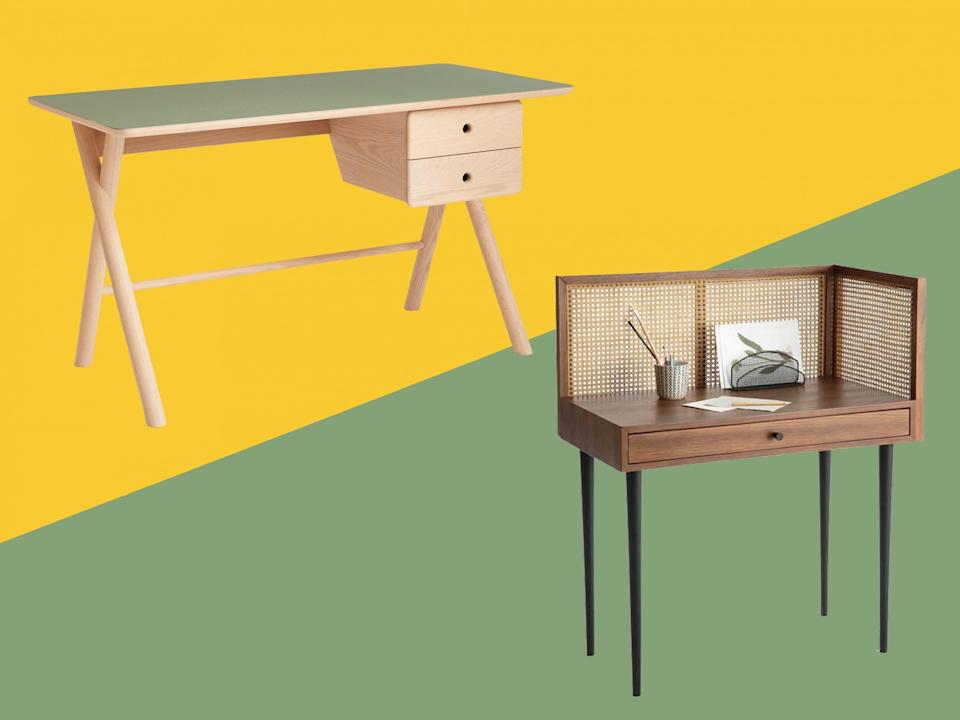 We put our best homeworking desks to the test, looking for top craftsmanship and quality of materials (The Independent/iStock)