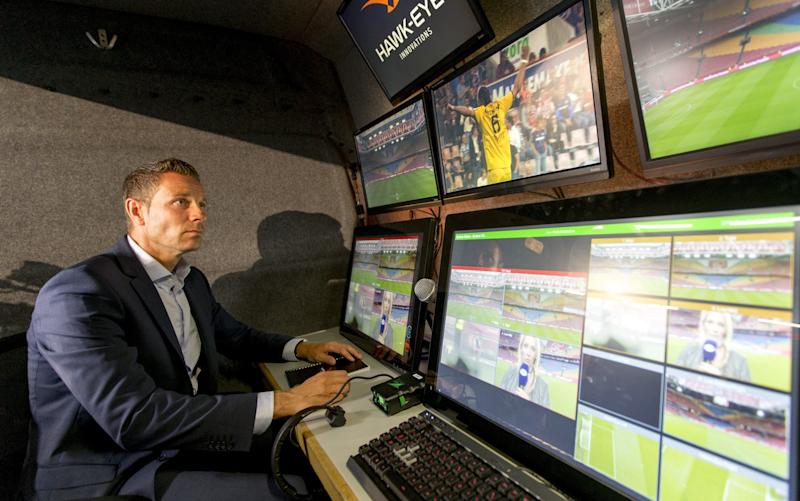 Video technology is starting to make its presence felt in football - This content is subject to copyright.