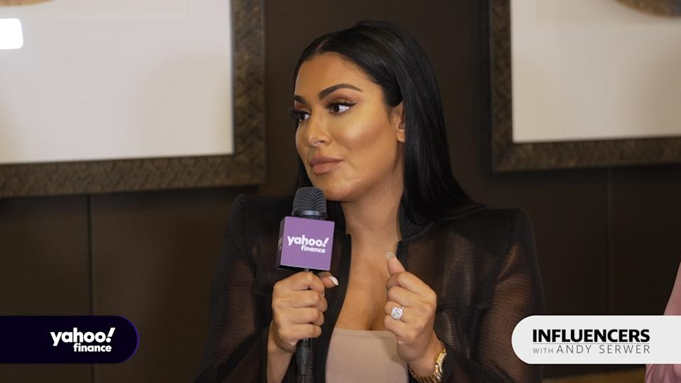Beauty influencer and businesswoman Huda Kattan appears on Influencers with Andy Serwer.