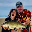 """<p>Shelton took Apollo fishing — <a href=""""https://www.instagram.com/p/CBtEbMcjot0/"""" rel=""""nofollow noopener"""" target=""""_blank"""" data-ylk=""""slk:and reeled in a winner"""" class=""""link rapid-noclick-resp"""">and reeled in a winner</a>!</p>"""
