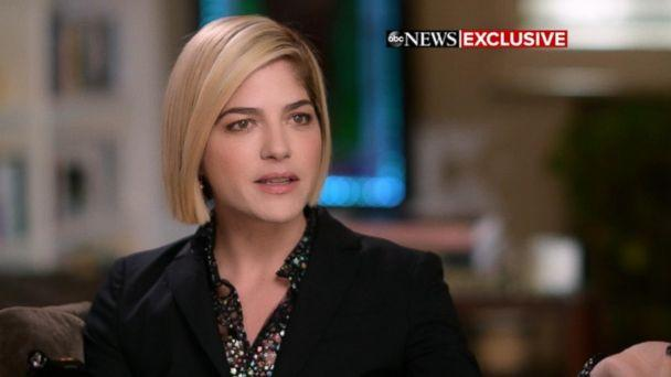PHOTO: Actress Selma Blair opens up about her MS diagnosis in an interview with 'GMA' co-anchor Robin Roberts. (ABC)