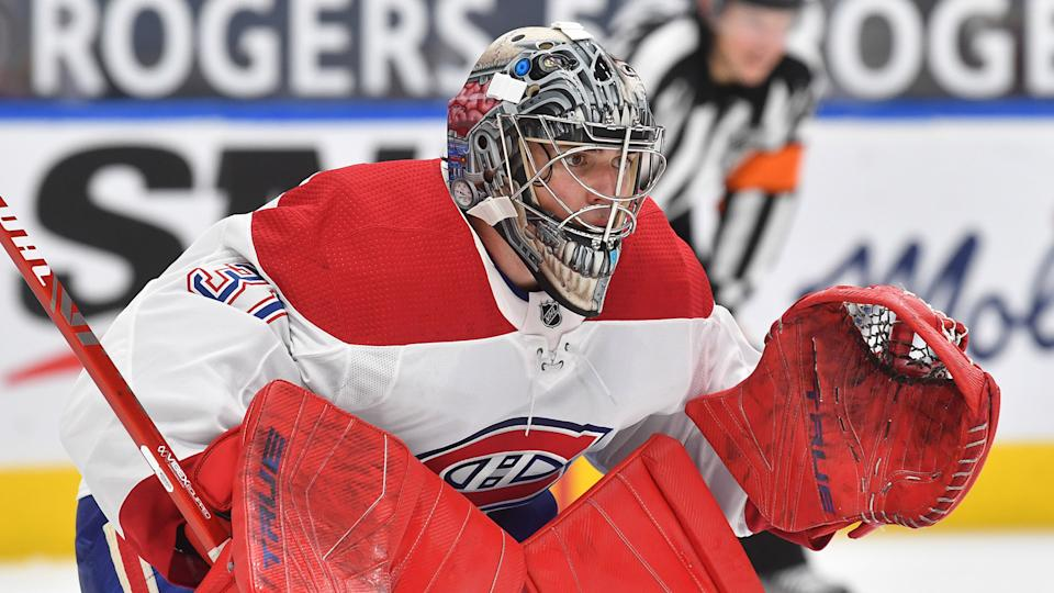 Carey Price was dialled in against the Edmonton Oilers on Saturday. (Photo by Andy Devlin/NHLI via Getty Images)