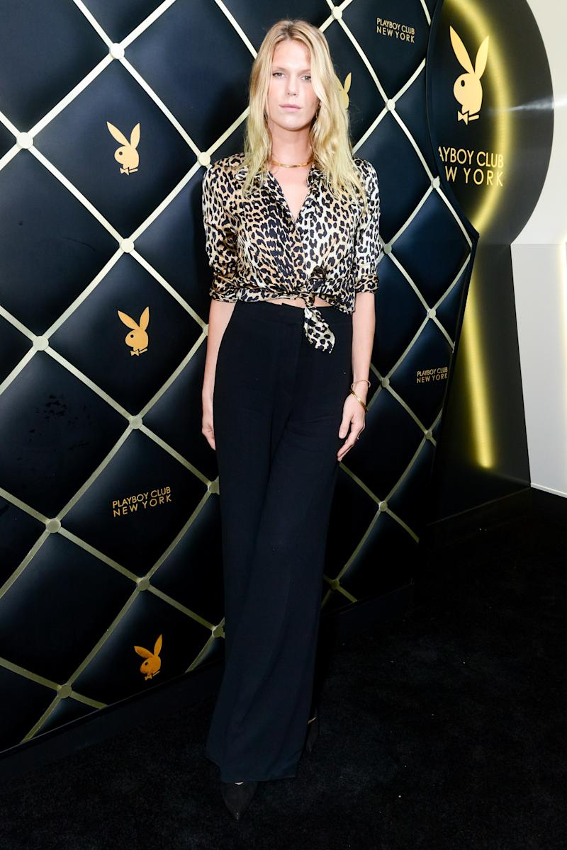 Alexandra Richards attends the Playboy Club Opening Party in New York City on September 13, 2019.