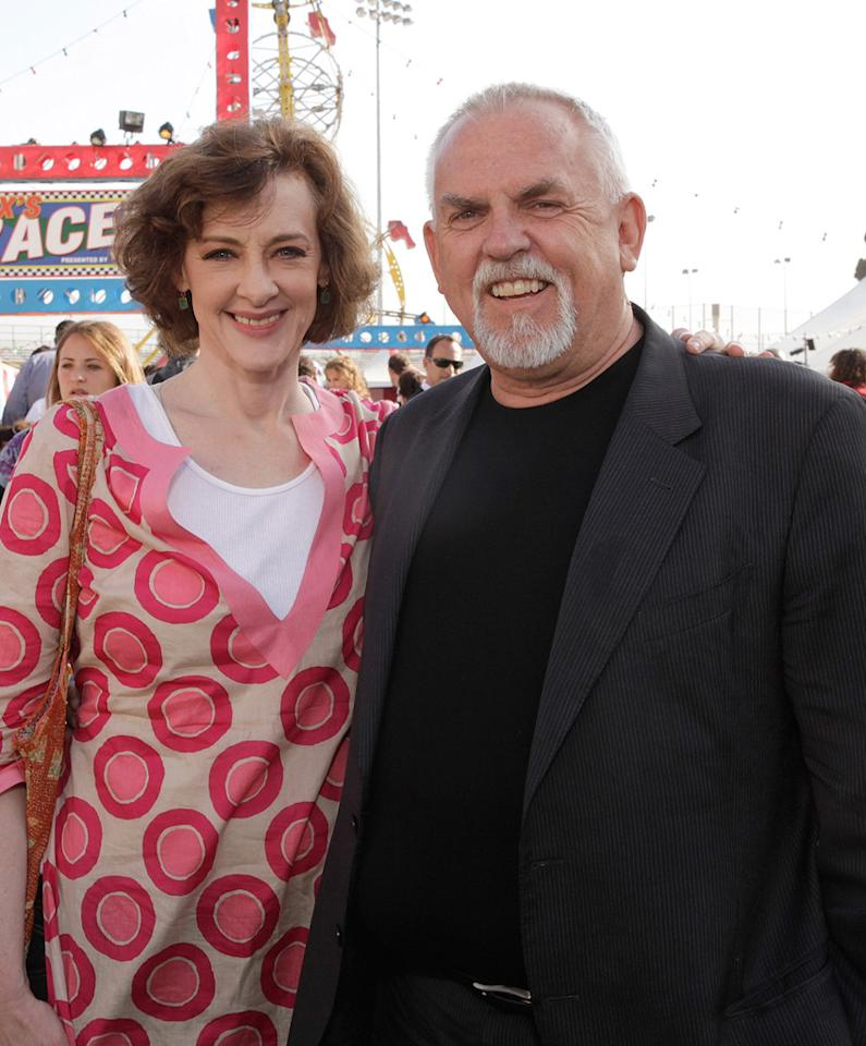 """<a href=""""http://movies.yahoo.com/movie/contributor/1800016005"""">Joan Cusack</a> and <a href=""""http://movies.yahoo.com/movie/contributor/1800036961"""">John Ratzenberger</a> at the Los Angeles premiere of <a href=""""http://movies.yahoo.com/movie/1809266566/info"""">Toy Story 3</a> - 06/13/2010"""