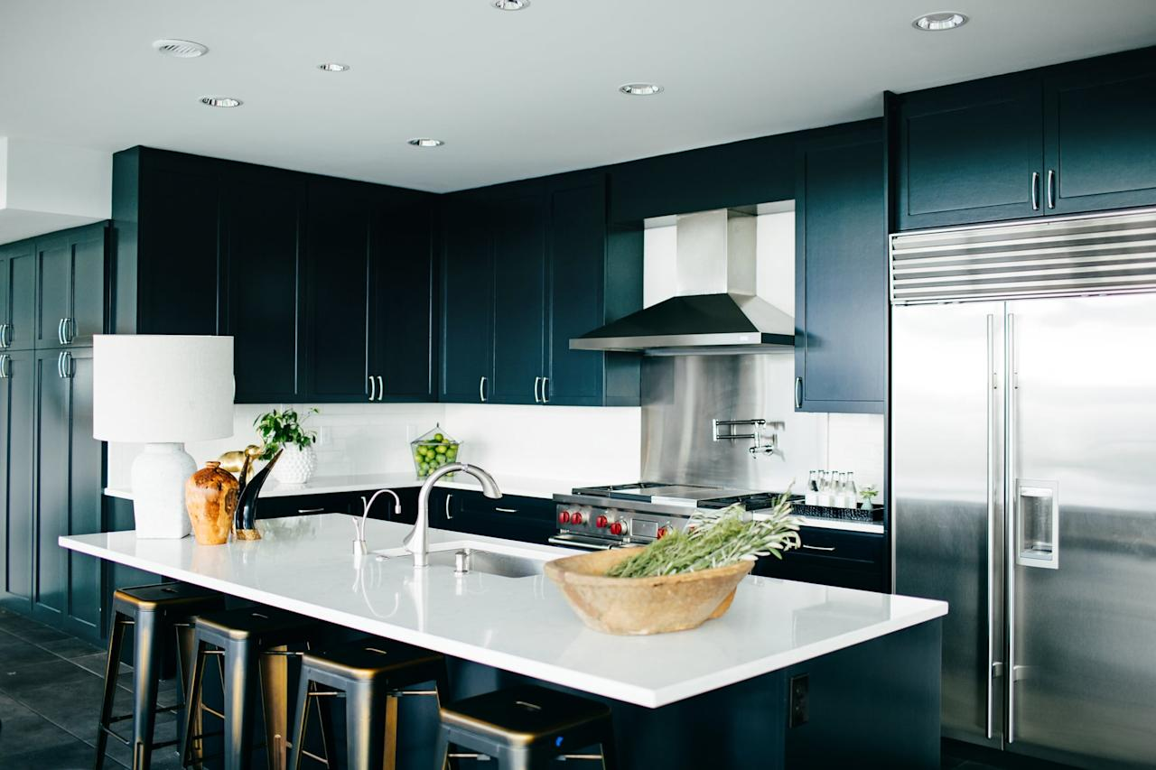 <p>To stay sanitary, be sure to wipe down your kitchen countertops at least once a day. And if you spend a lot of time cooking, always be sure to give them a good wipe-down after every meal to eliminate any lingering bacteria.</p>