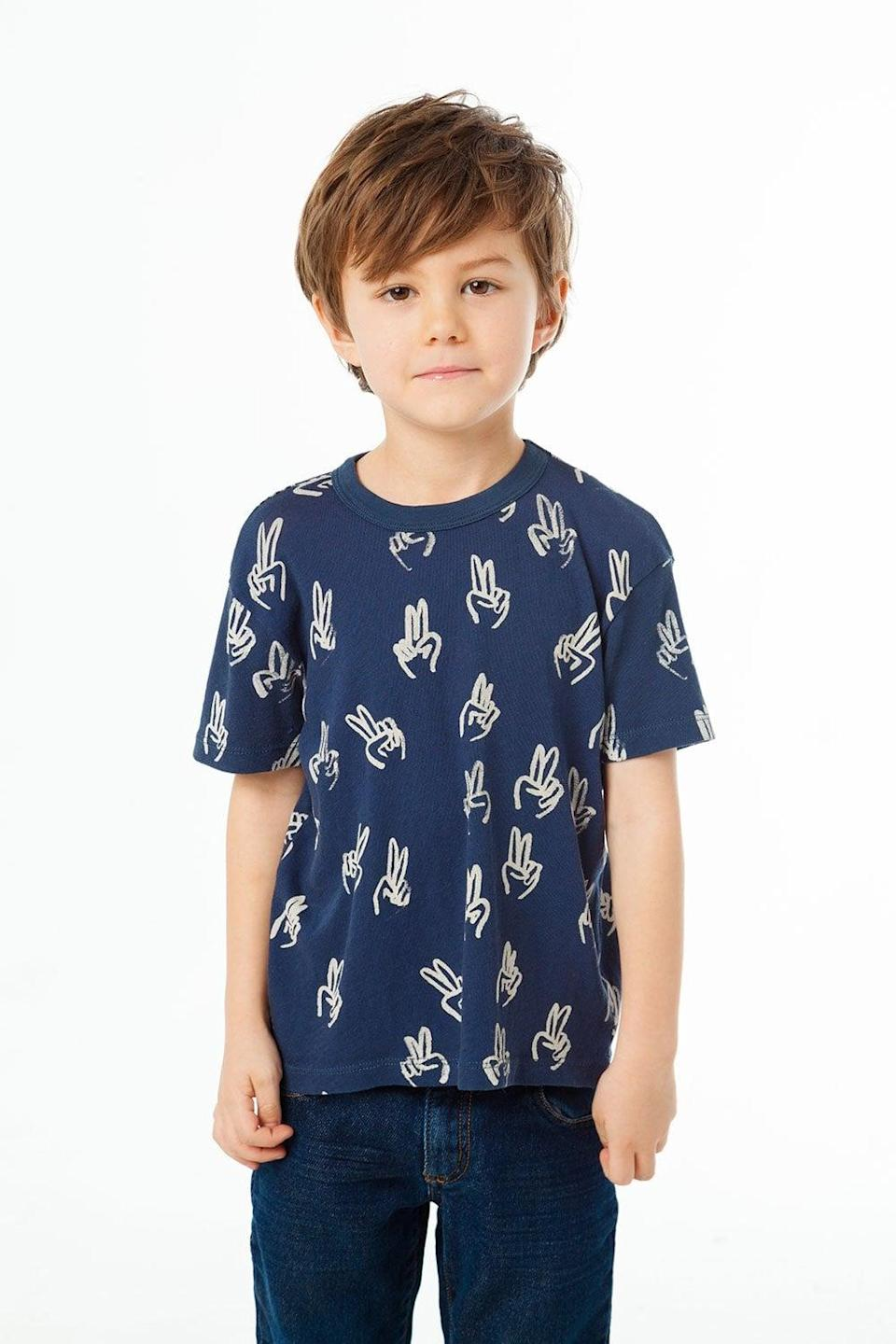 <p>This <span>Peace Sign Tee</span> ($31) oozes cool.</p>