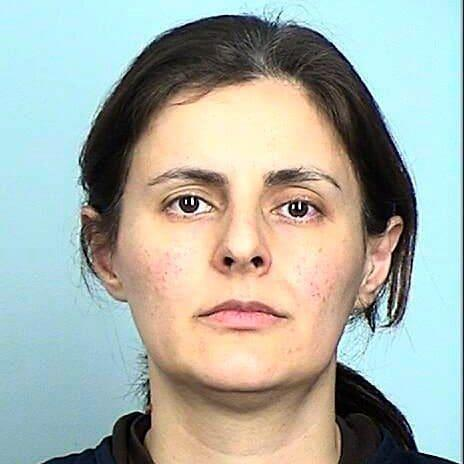 Negar Ghodskani is in prison in the US - Credit: Sherburne County Sheriff's Office via AP