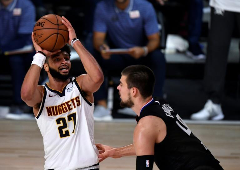 Nuggets thump Clippers and Raptors down Celtics to even NBA series